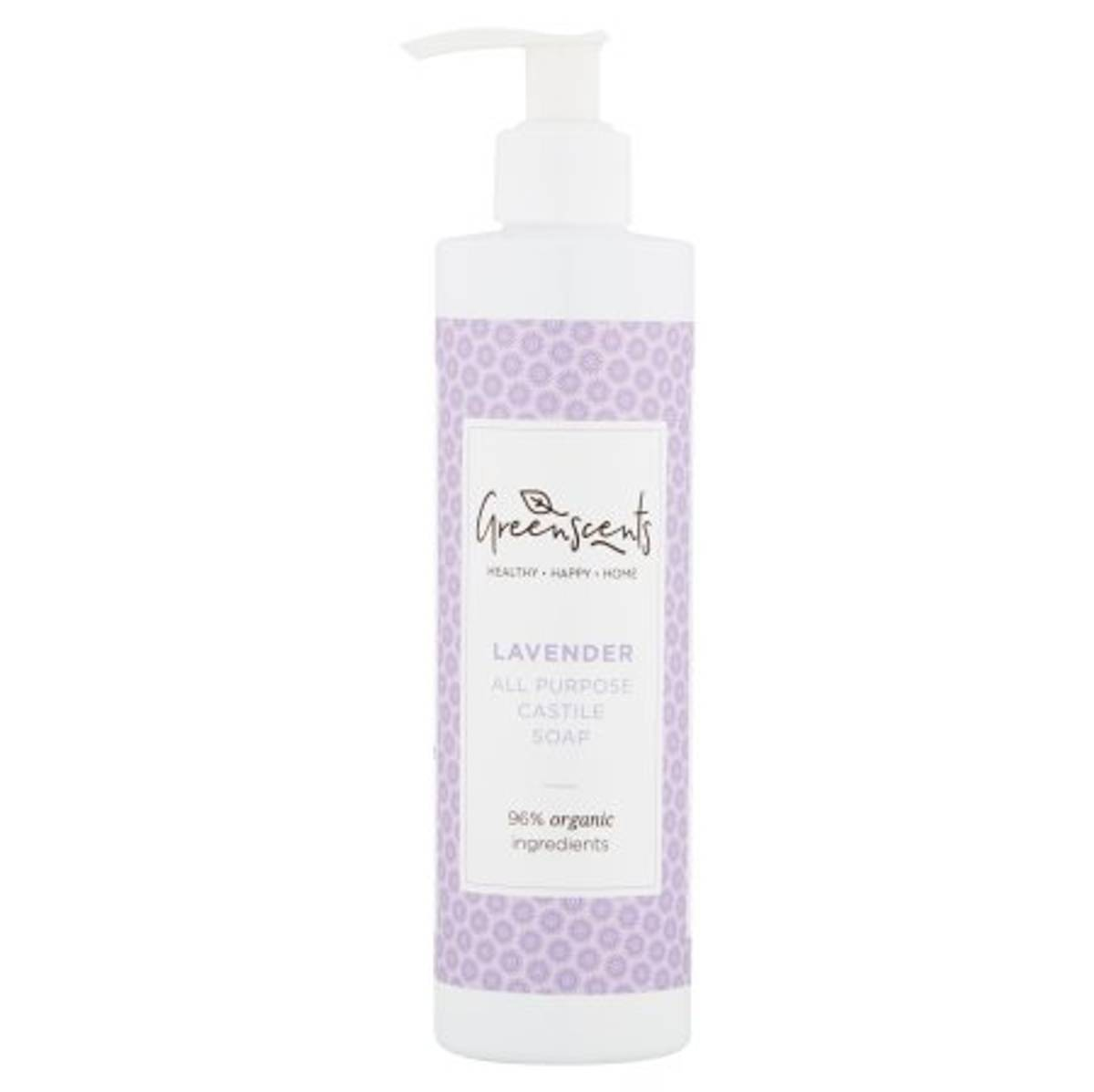 Castilesåpe Lavendel 300 ml / Greenscents