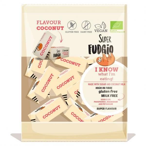 Bilde av Karameller Coconut 150g, Super Fudgio
