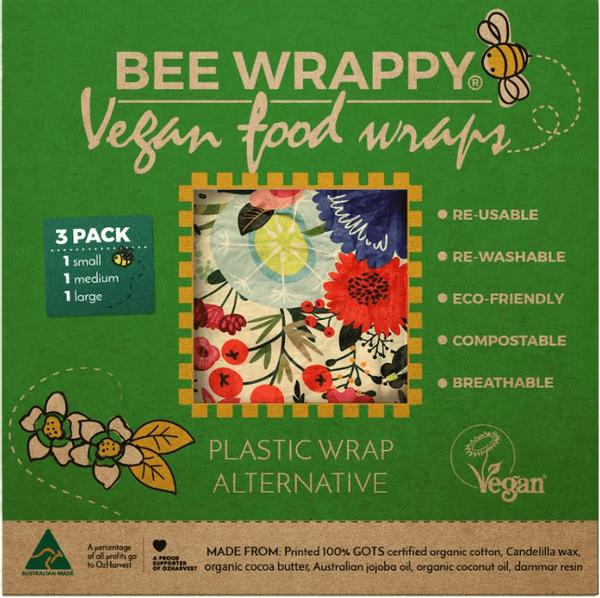 Bilde av 3-pk veganske voksark Bee Wrappy
