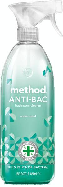 Bilde av Anti-bac baderomsspray, Water mint 828 ml / Method