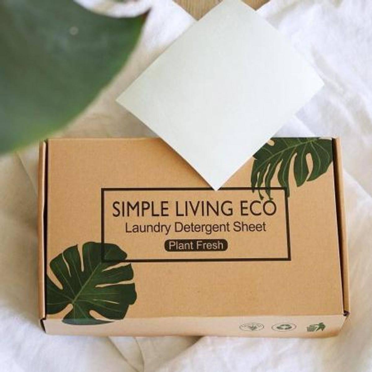 60 stk vaskeark, Duftfri / Simple Living Eco