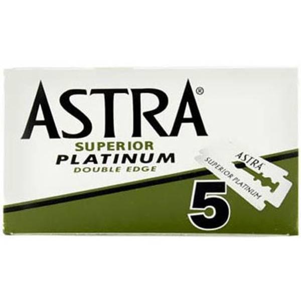 Bilde av 5-pk Astra Superior Platinum barberblader