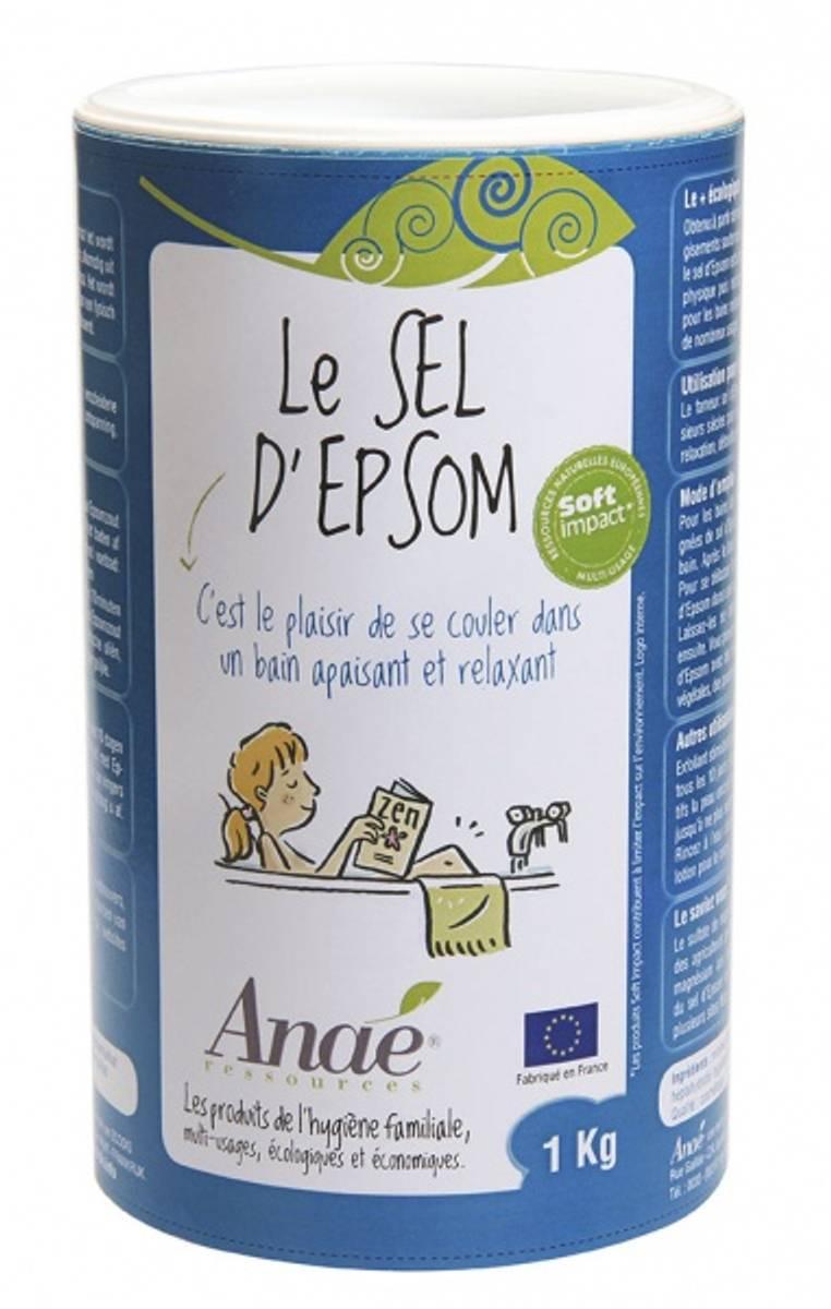Epsomsalt/bittersalt 1 kg / Anaé