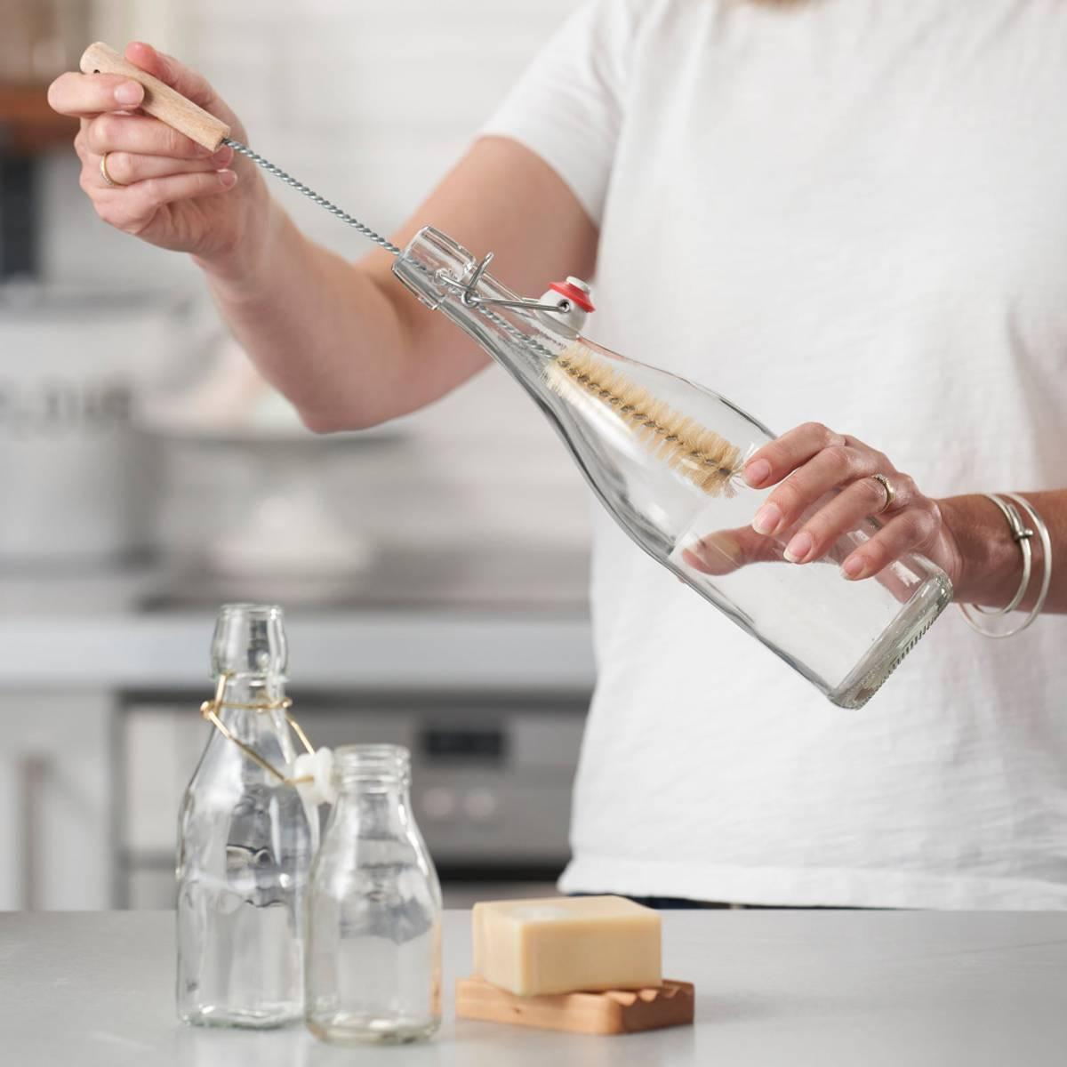 Smal flaskebørste (FSC 100%) / ecoLiving
