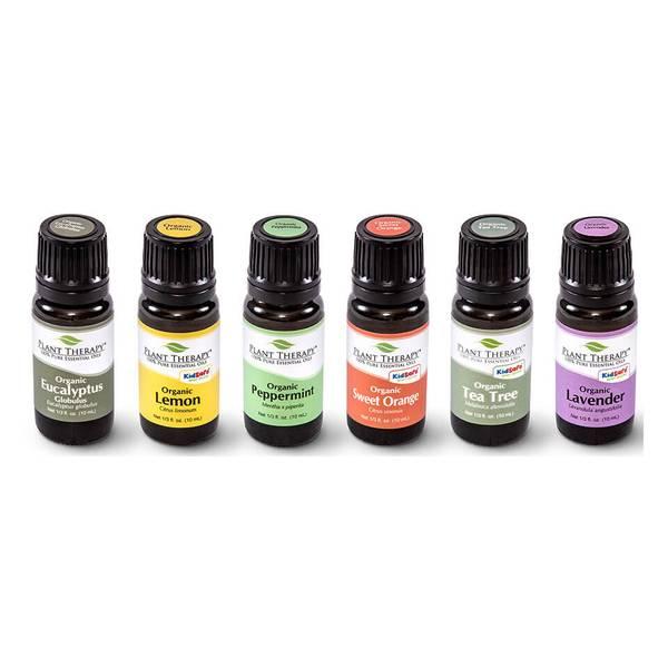 Bilde av Startpakke med6 stk eteriske oljer, økologisk / Plant Therapy