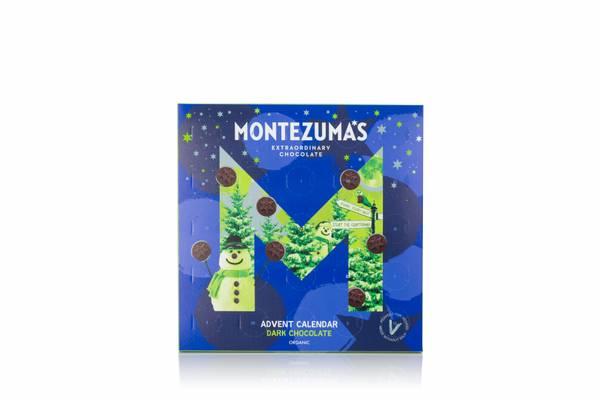 Bilde av Sjokoladekalender med mørk sjokolade, 240g / Montezumas
