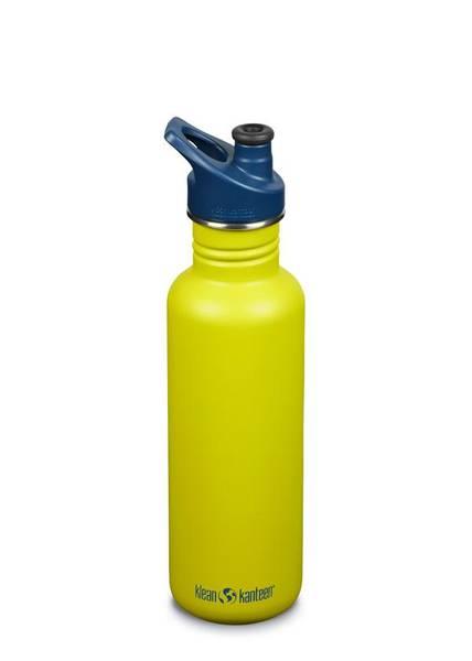 Bilde av Drikkeflaske Sport 800ml, Green Apple / Klean Kanteen