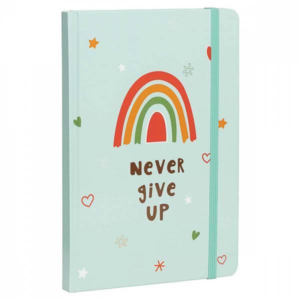 Bilde av Never give up - dagbok / Beeorganic