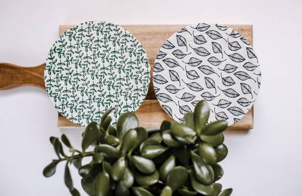 Bilde av 2-pk vokset bolletrekk str. S, Leafy / Your Green Kitchen