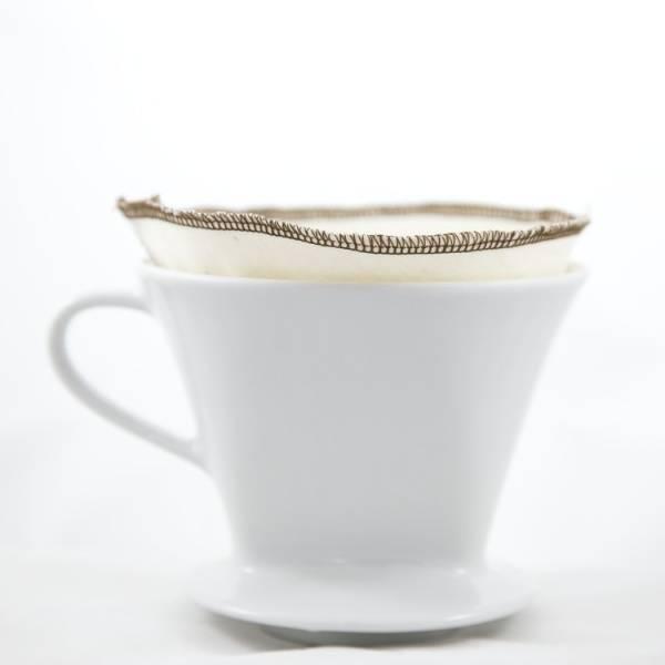 Bilde av CoffeeSock® 2-pk kaffefilter nr. 2 i økologisk bomull
