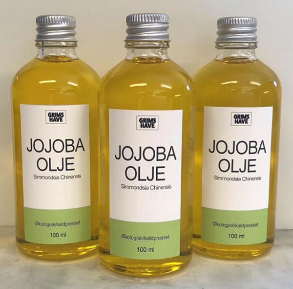 Bilde av Jojobaolje 100 ml, økologisk / Grims Have