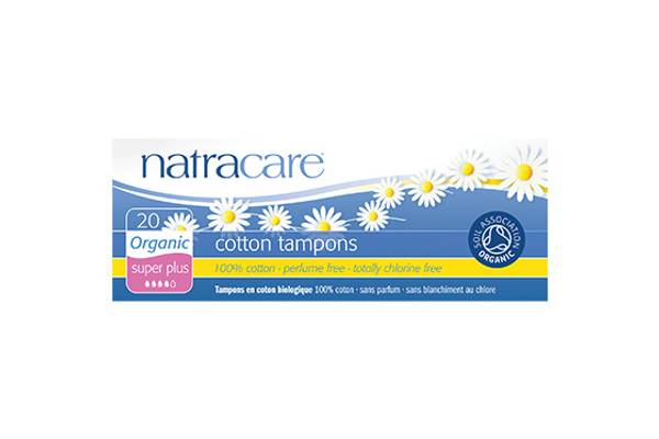 Bilde av 20 stk SUPER PLUS økologiske tamponger / Natracare