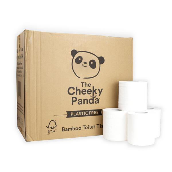 Bilde av Toalettpapir av bambus - 48 stk / The Cheeky Panda