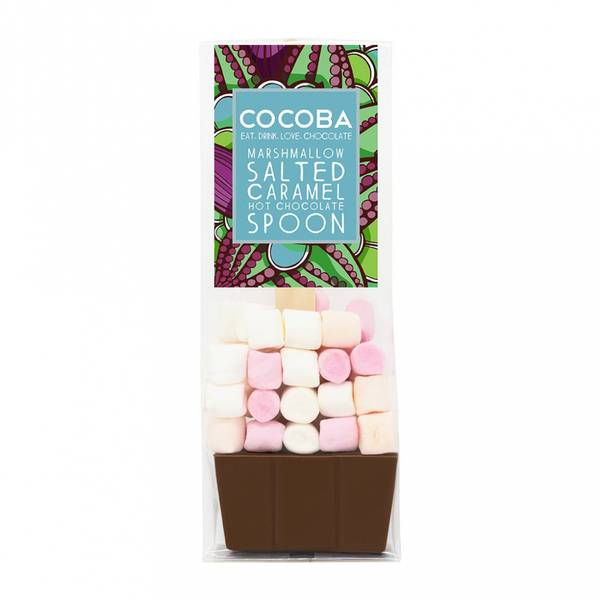 Bilde av Kakao på skje med marshmallows, vegansk 50g / Cocoba